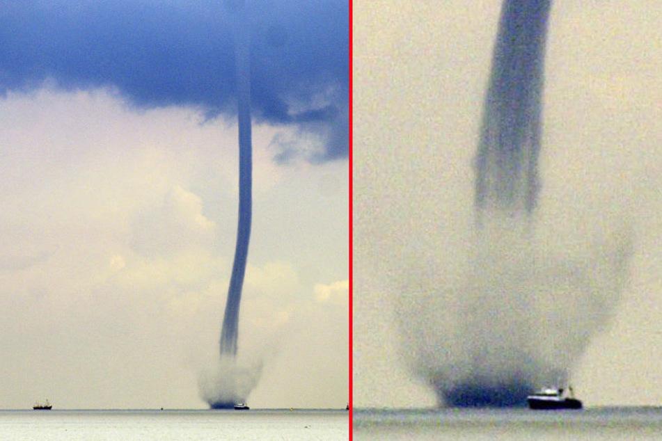 Sturm-Experte warnt: Jetzt sind Tornados auf der Nordsee möglich