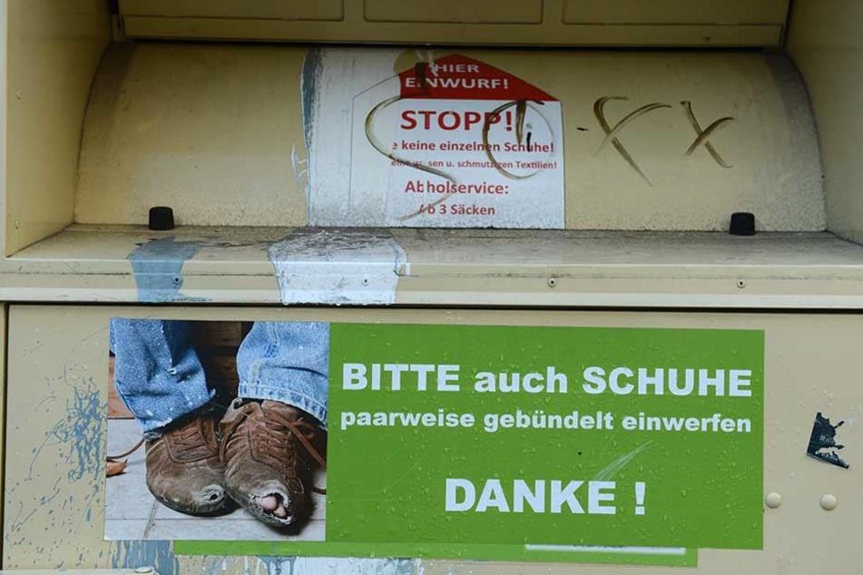 Kleidercontainer-Diebe vergessen Fluchtfahrzeug am Tatort
