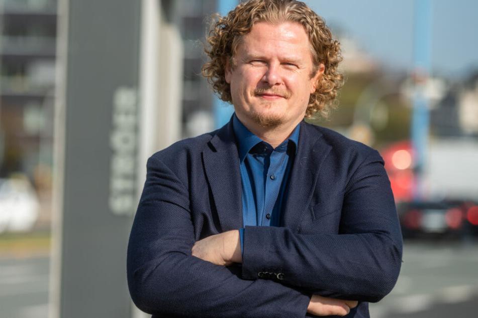 Ex-Stadtrat Lars Fassmann (41) will den Brühl beleben. Er sieht den Fehler bei der Stadt.