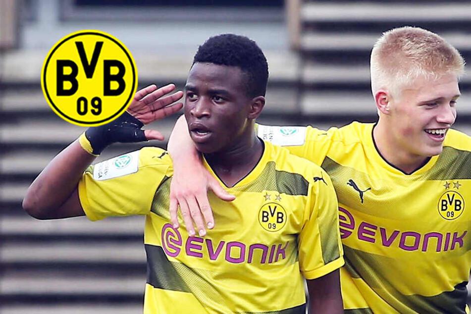 BVB-Wunderkind Moukoko zerlegt Bayer Leverkusen mit Dreierpack!