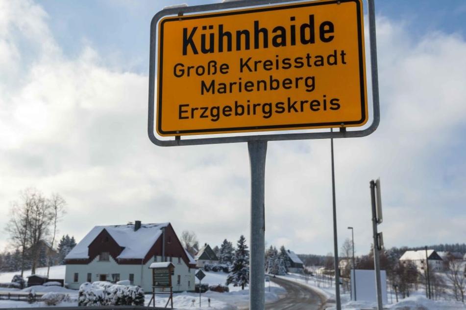 An der Wetterstation in Marienberg-Kühnhaide wurden am Mittwochmorgen -27,8 Grad gemessen.