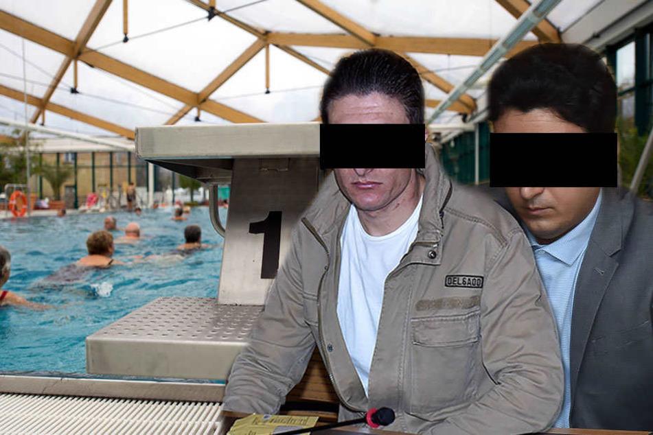 Ahmad A. (l.) und Saeed A. wurden zu sechs Monaten Freiheitsstrafe verurteilt.