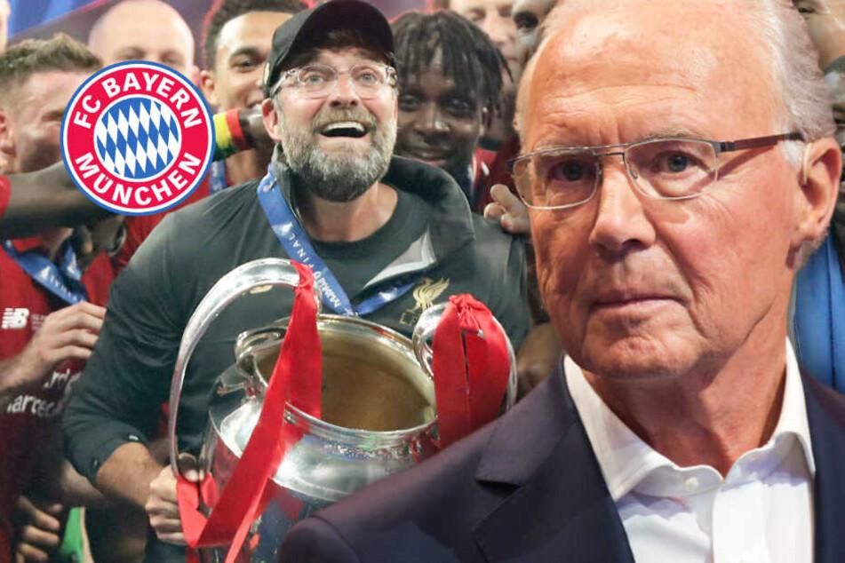 Jürgen Klopp ist der König von Europa: Franz Beckenbauer hat großen Wunsch
