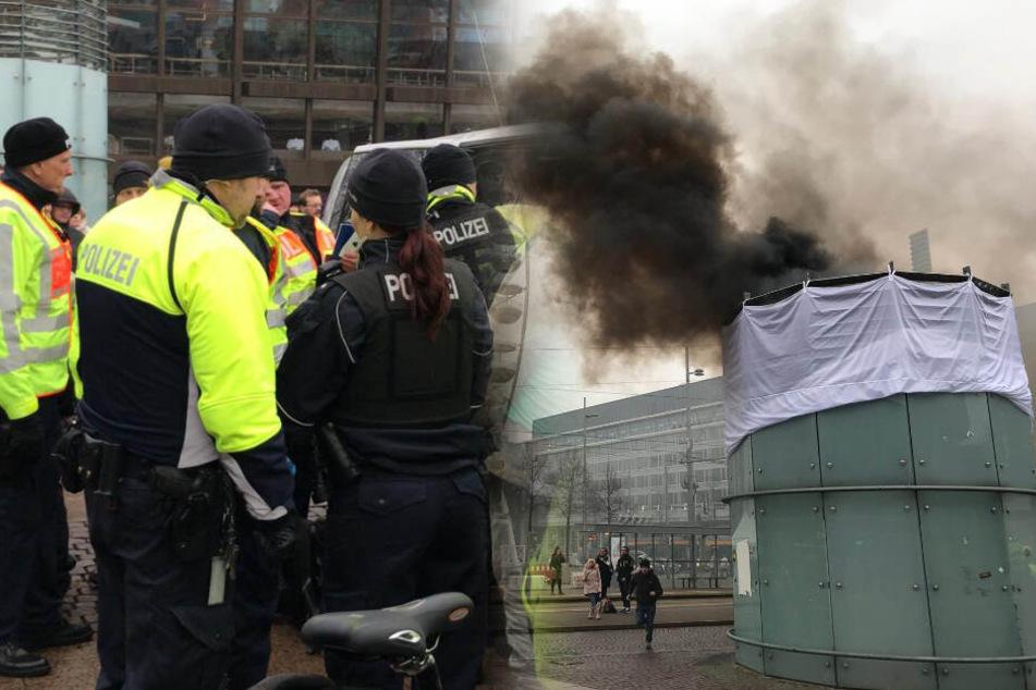 Anti-Kohle-Demo in Leipzig: Polizei nimmt Demonstranten fest