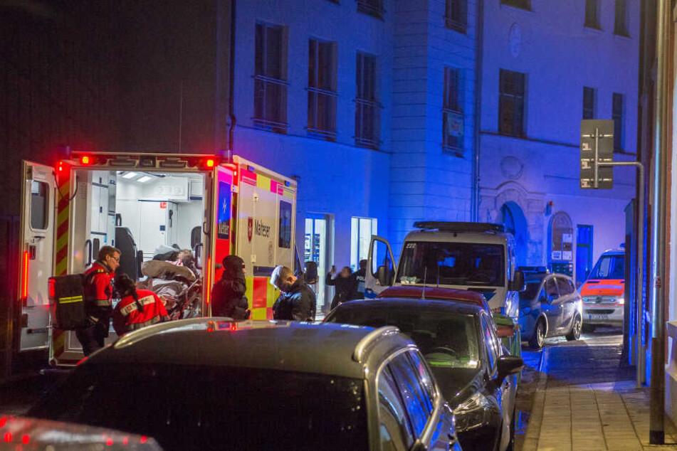 Ein Mädchen musste mit dem Rettungswagen abtransportiert werden.