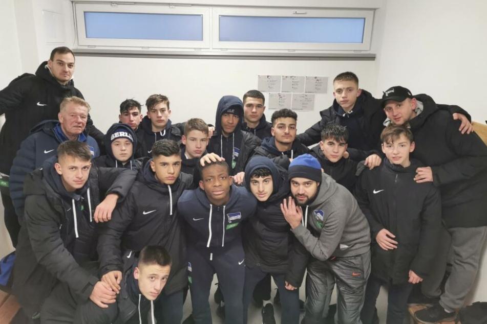 Herthas B-Jugend hat das Spielfeld in Auerbach nach rassistischen Beleidigungen verlassen und so einen Spielabbruch verursacht.
