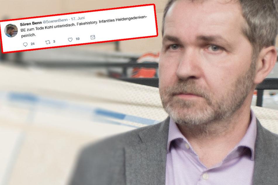 Pankows Bezirksbürgermeister empört mit Skandal-Tweet zum Tod von Kohl