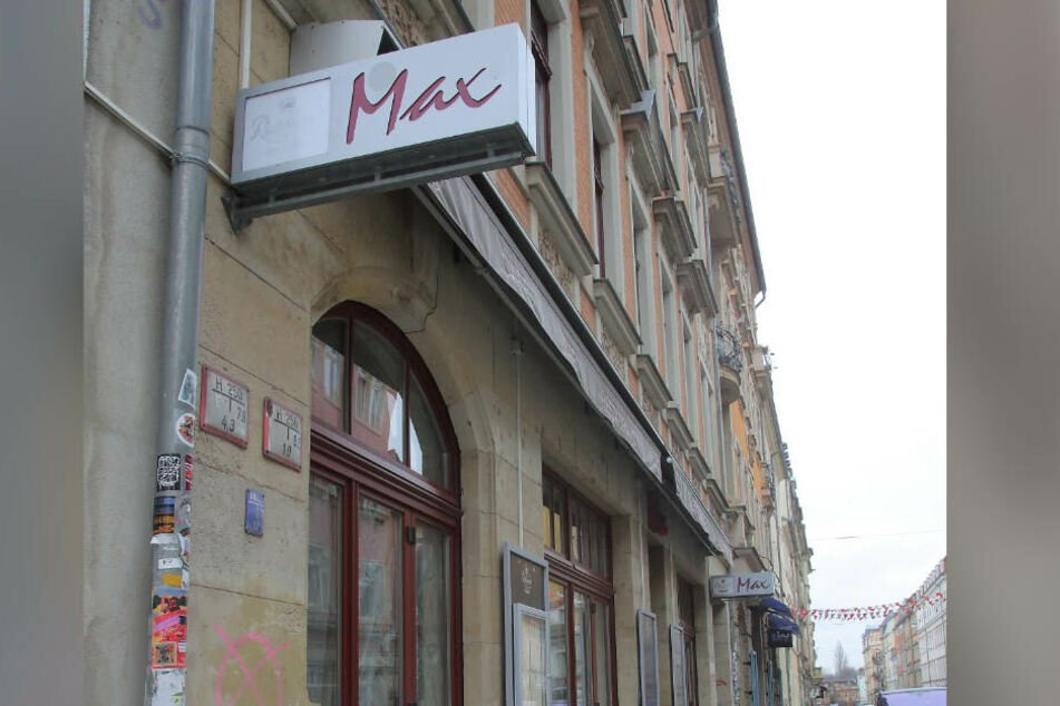 """Gähnende Leere: Das """"Max"""" in der Louisenstraße ist dicht."""