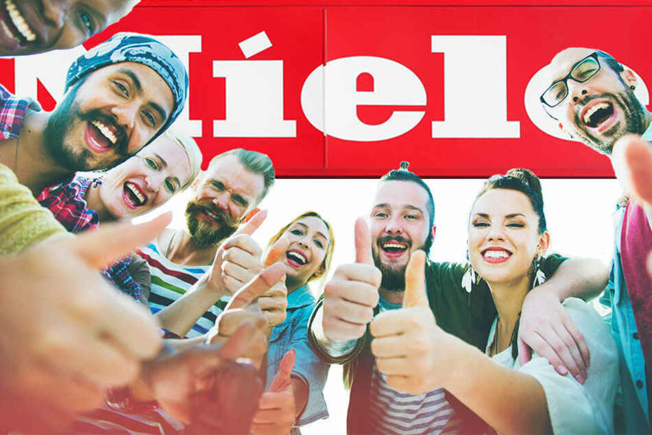 Daumen hoch! Miele ist für viele Deutsche die vertrauenswürdigste Marke.