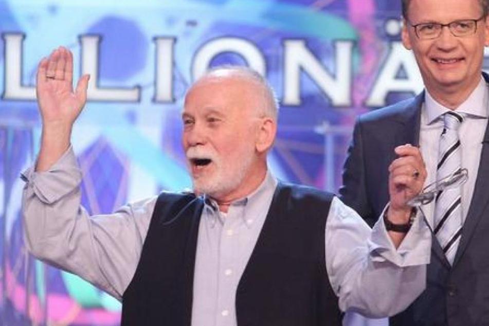 Der Senior durfte zum zweiten Mal an der Sendung teilnehmen.