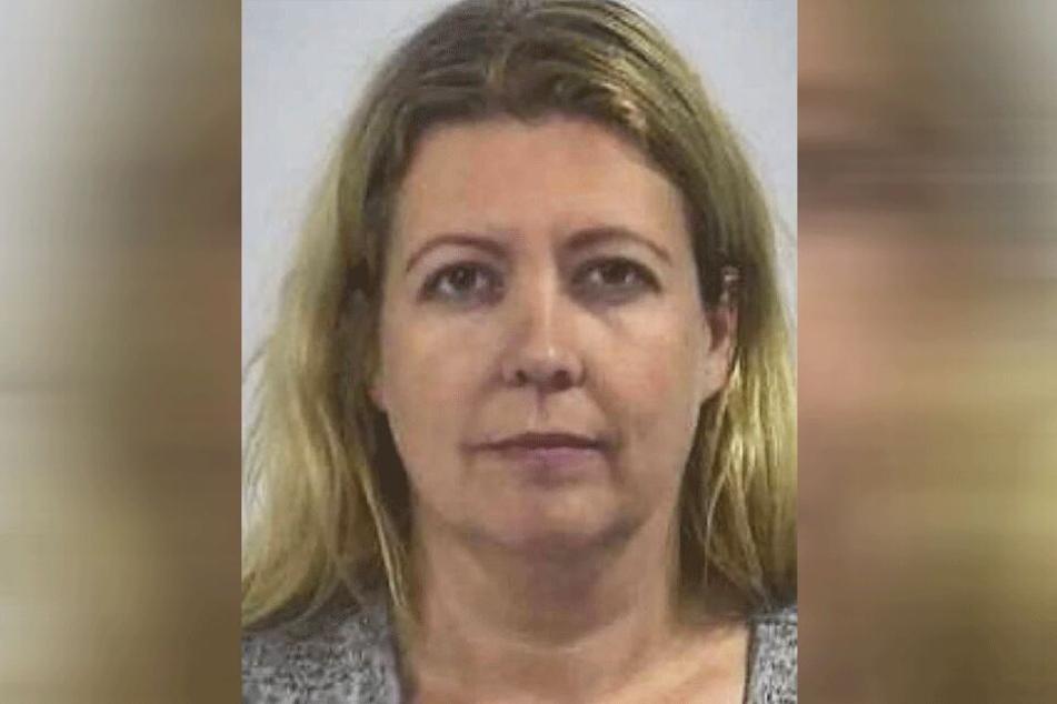 Christina P. (42) auf einem Gefängnisfoto.