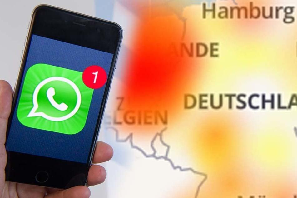 Bei Whatsapp geht gerade so gut wie gar nichts mehr!
