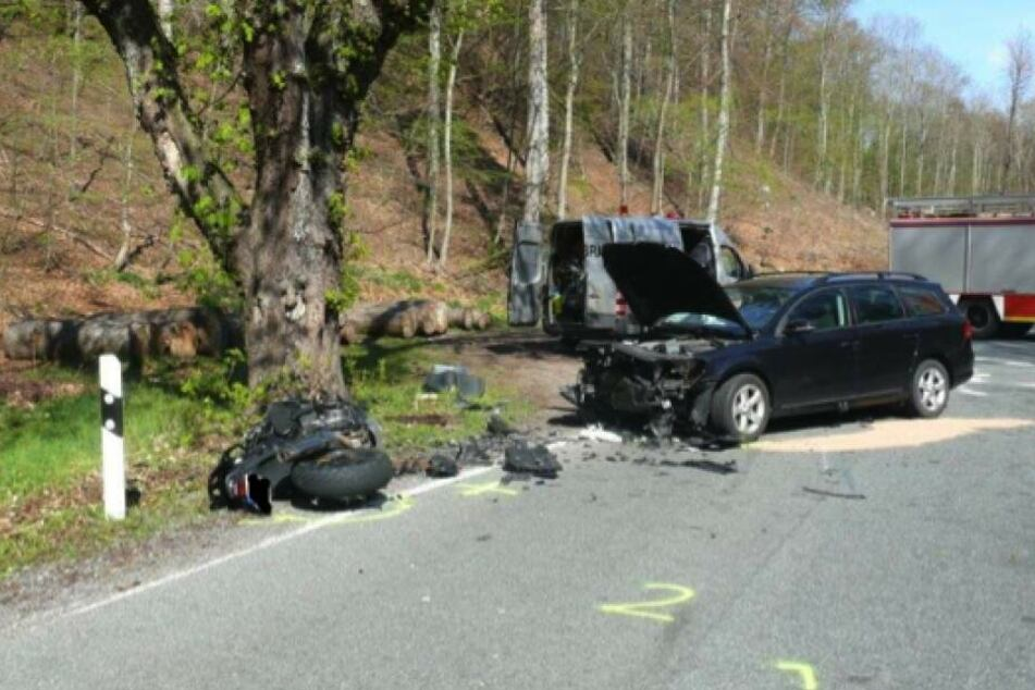 In der Nähe von Quedlinburg ereignete sich am Samstag ein tragischer Unfall.