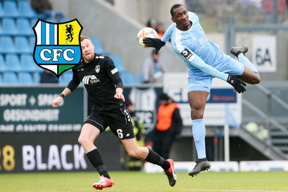 """Ausgerechnet gegen """"seinen"""" FSV: CFC-Bonga zittert ums Derby!"""