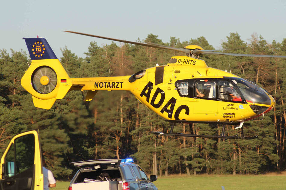 Motorrad-Unfall in Ostsachsen: Yamaha-Fahrer lebensbedrohlich verletzt!