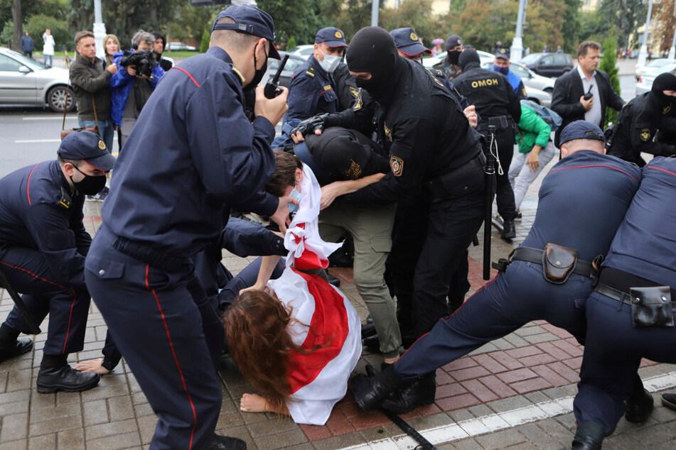 Wieder etliche Festnahmen bei Protesten in Belarus