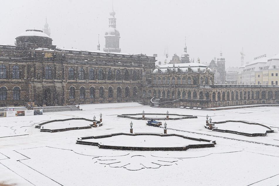 Sachsen: Jetzt kommt noch mehr Schnee, aber weniger Wasser!