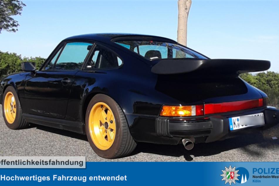 Zwei Porsche-Oldtimer aus Kölner Tiefgaragen geklaut
