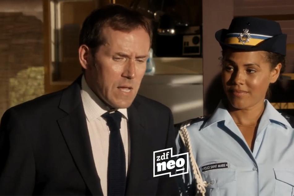 Detective Poole (Ardal O'Hanlon, 54, hier Staffel 2) ermittelte lange mit britischem Charme in der Karibik.