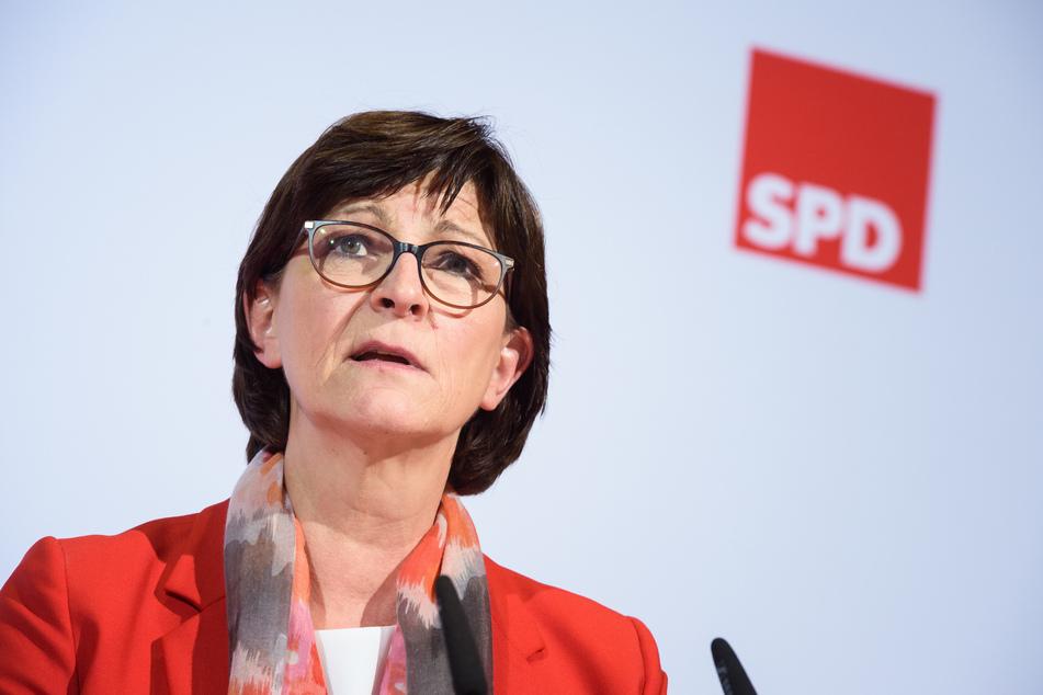 Saskia Esken, Bundesvorsitzende der SPD. (Archivbild)