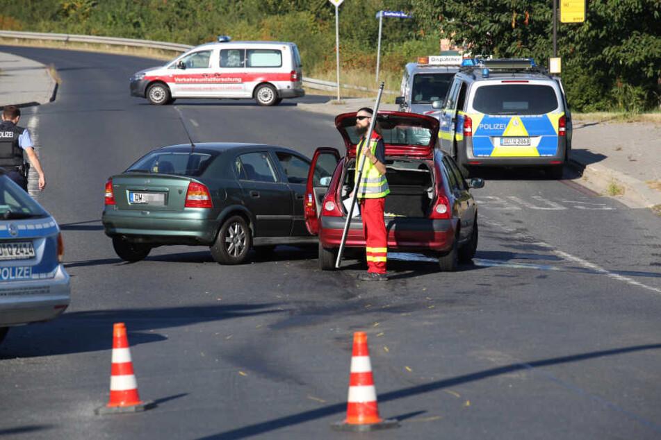 Gegen 7.30 Uhr kam es auf der Saalhausener Straße zu einem Verkehrsunfall.
