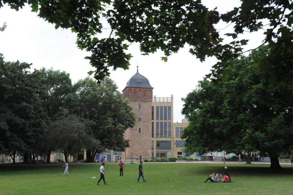 Der Stadthallenpark soll nach Kellnbergers Vorschlag verlagert werden.