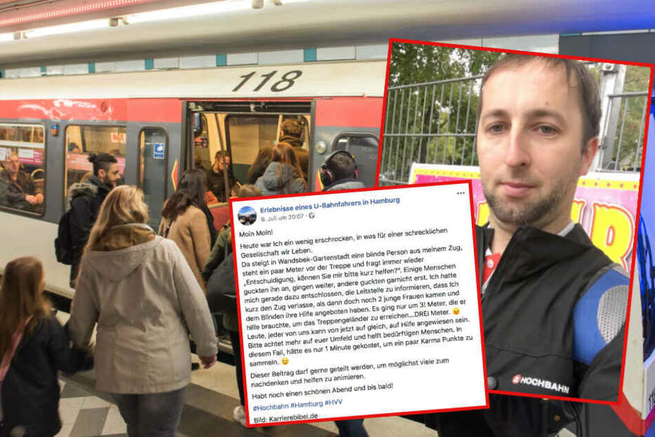 """""""Schreckliche Gesellschaft"""": Emotionaler Post von U-Bahn-Fahrer geht viral"""