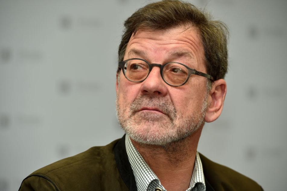 Wird die Sanierung der Königsbrücker Straße aus dem Ruhestand verfolgen müssen: Straßen- und Tiefbauamtschef Professor Reinhard Koettnitz.