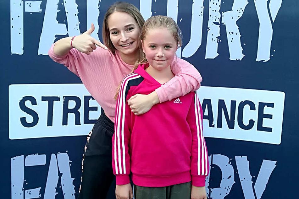 Angela Lang (24, links) und Celine Strohmaier (10) qualifizierten sich für die Tanz-WM in Tschechien.