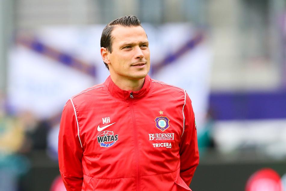 Co-Trainer Marc Hensel (35) wurde offiziell zum Interims-Trainer bestimmt.