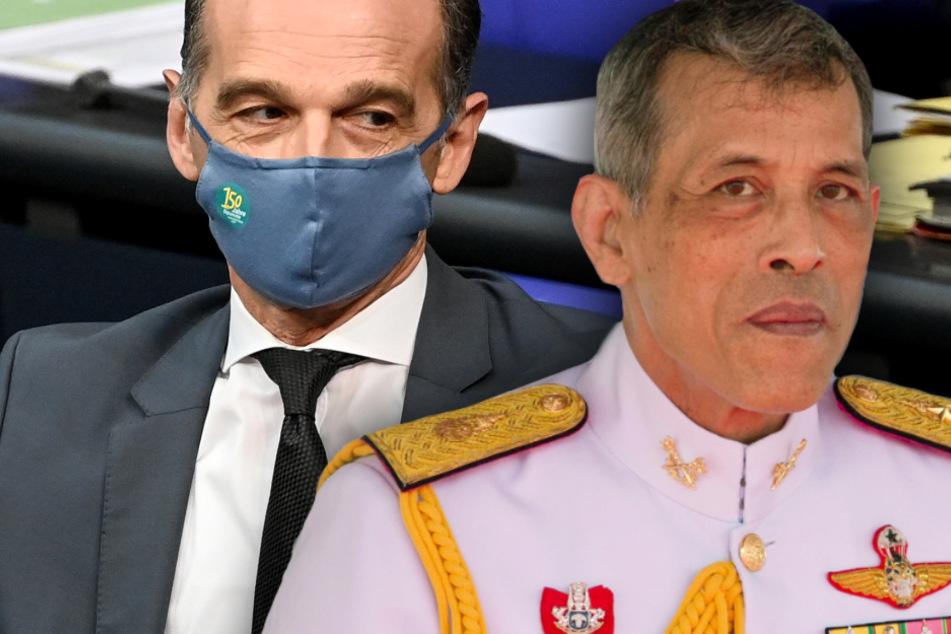 Thai-König wegen Aufenthalten in Bayern im Visier: Heiko Maas wird richtig deutlich!