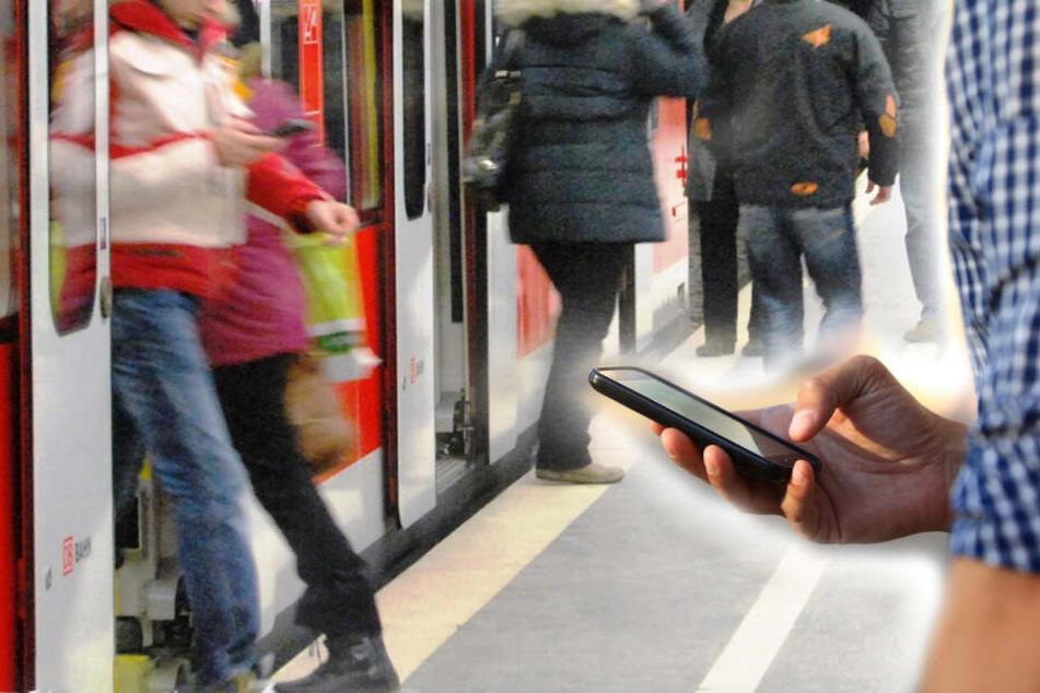Junge spielt mit Handy und bemerkt S-Bahn nicht, dann passiert das Schreckliche