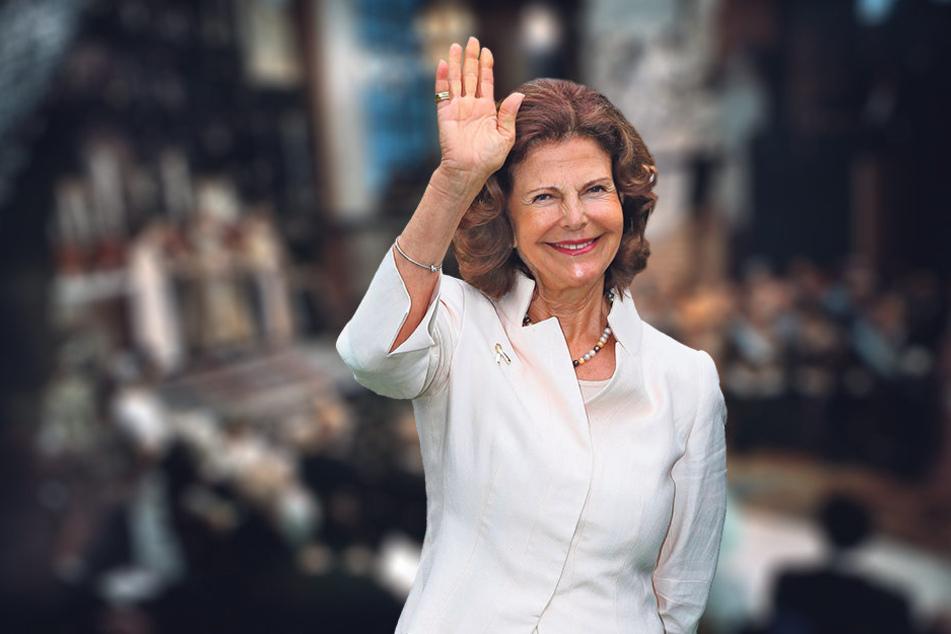 Royaler Besuch: Königin Silvia  (72) von Schweden wird mit ihrem Mann Carl Gustaf (70) am Samstag in Leipzig  erwartet.