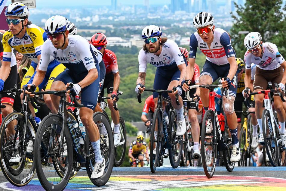 Die 60. Ausgabe des deutschen Radklassikers Eschborn-Frankfurt führte über 187,4 Kilometer.