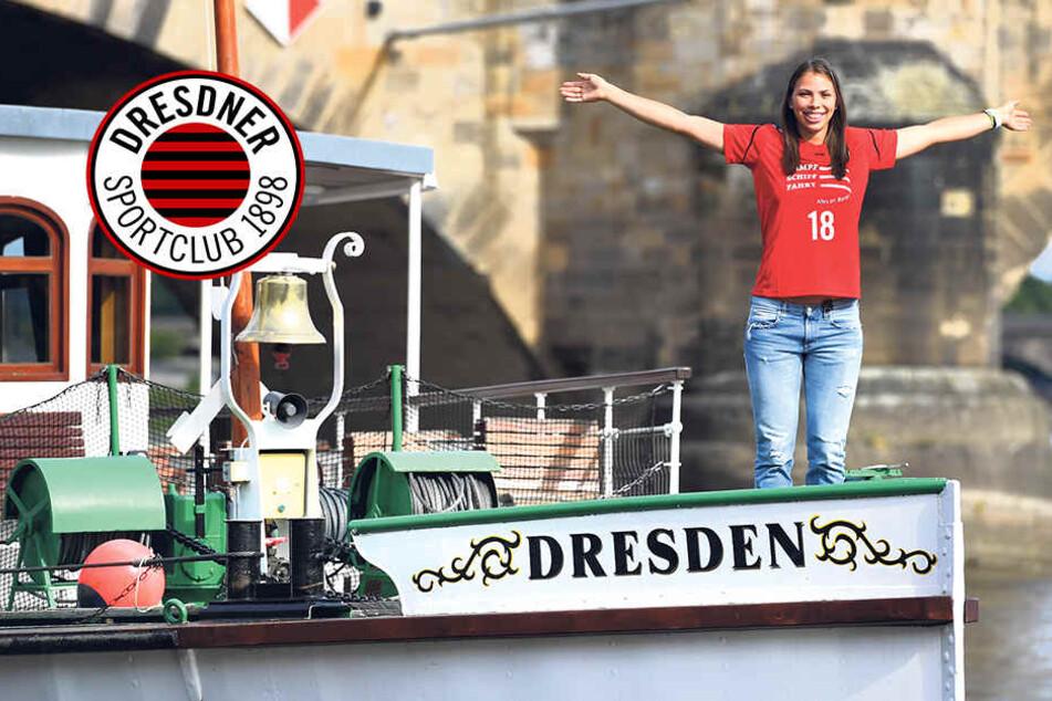 Sasa schnuppert Dresdner Luft & will in Robins Fußstapfen treten!