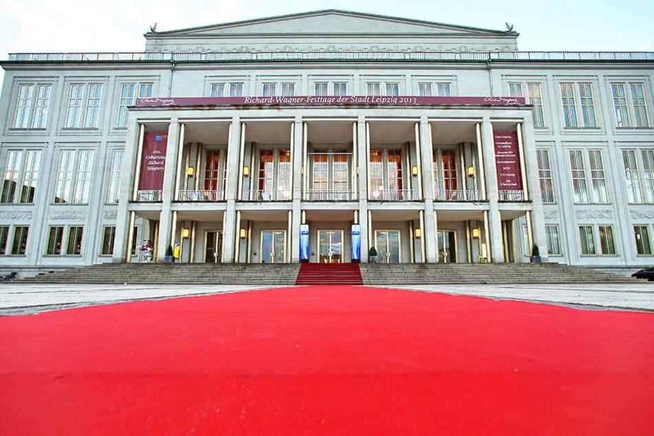 Eine Probe der anderen Art fand am Donnerstagmittag an der Leipziger Oper statt.