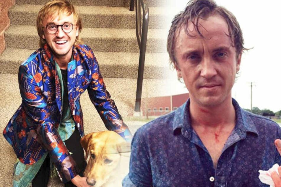 Die blonden Haare, der stechende Blick und das markante Gesicht sind geblieben. Ansonsten hat sich Tom Felton (30) in den letzten Jahren ziemlich verändert.
