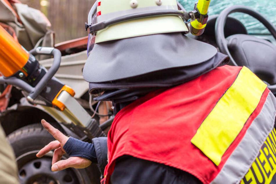 Die Feuerwehr hatte alle Hände voll zu tun. (Symbolbild).