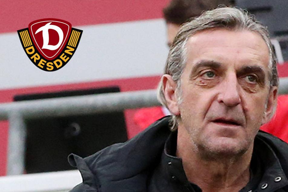 """Sportdirektor Minge zum Dynamo-Blackout: """"Es stehen Menschen auf dem Platz"""""""