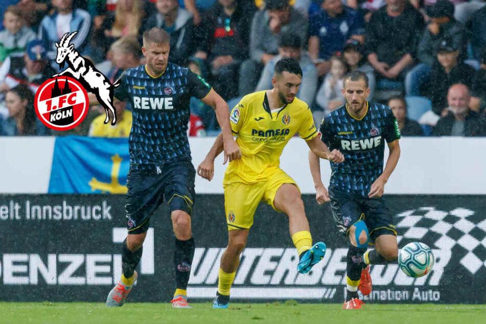 Aufsteiger Köln verliert trotz Führung gegen Villarreal