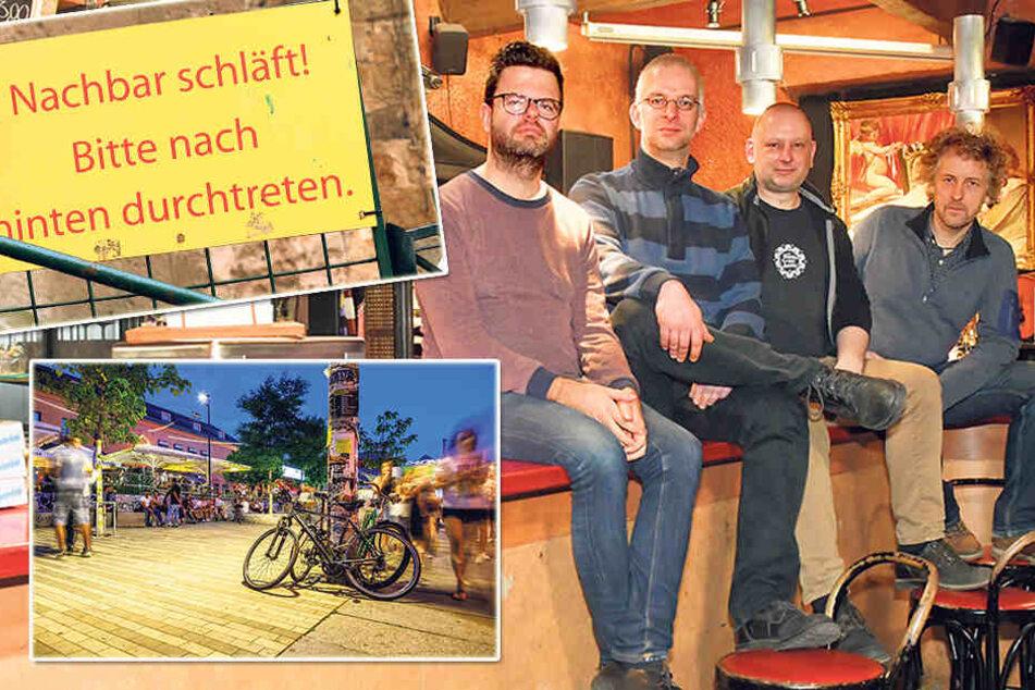 Dresden: Aufstand gegen Sperrstunde: Gastronomen und Clubbetreiber wollen rund um die Uhr öffnen