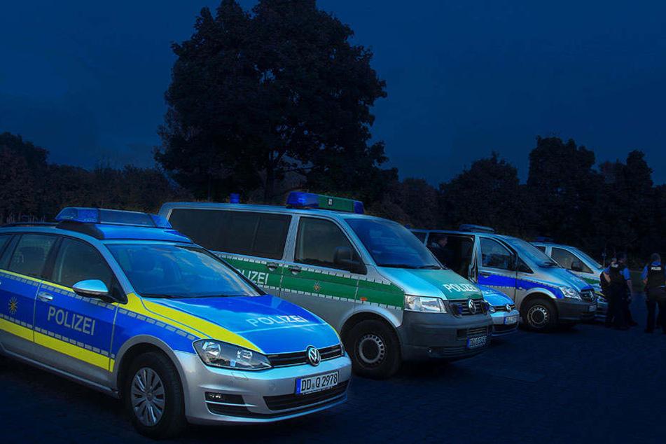 Die Polizei musste am Wochenende erneut zu einem Einsatz in der Dresdner Neustadt ausrücken (Symbolbild).