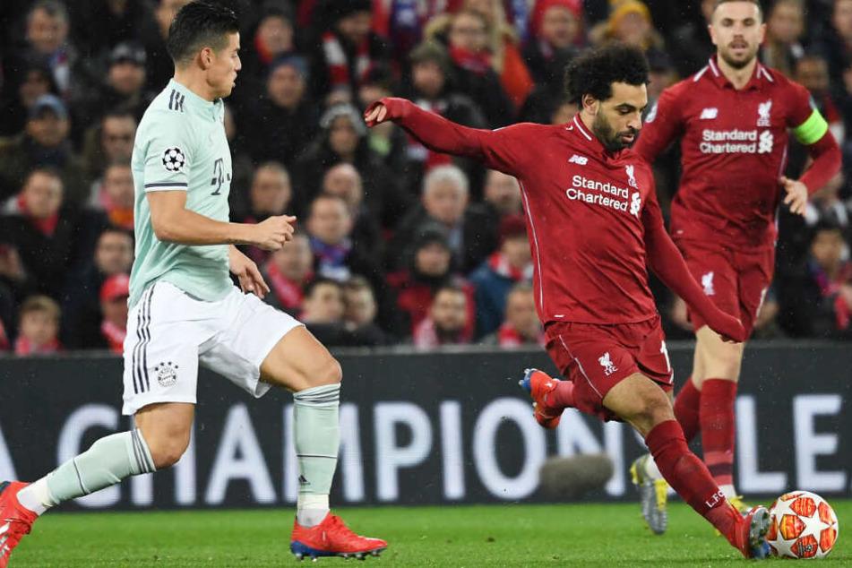 Mohamed Salah und der FC Liverpool gingen als leichter Favorit in die Partie.