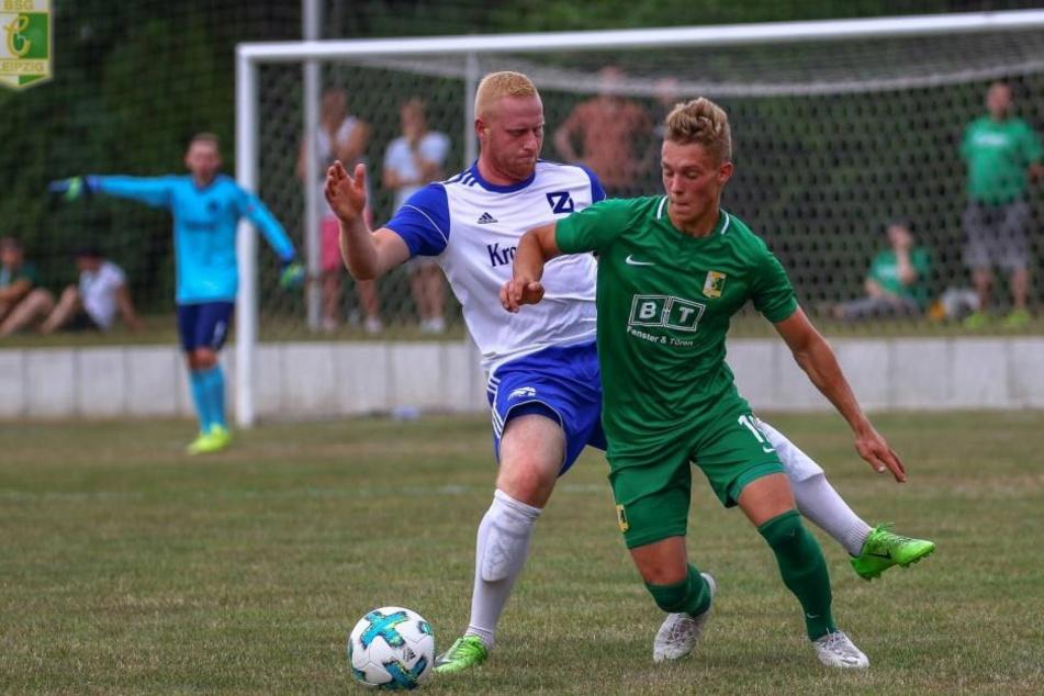 Chemie Leipzig konnte sich mit einem 6:1 gegen Blau-Weiß Zorbau durchsetzen. (Archivbild)