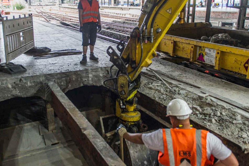Umbauarbeiten wie hier am Hauptbahnhof, werden ab Mittwoch auch den Rödingsmarkt betreffen.