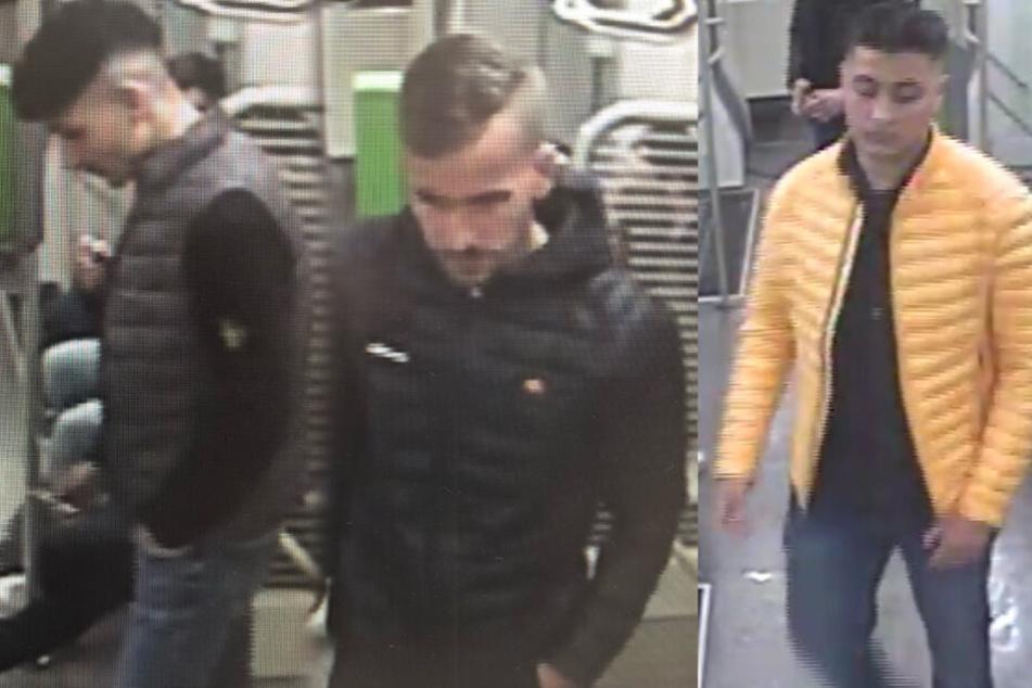 20-Jähriger in Straßenbahn verprügelt: Fahndung nach Schläger-Trio