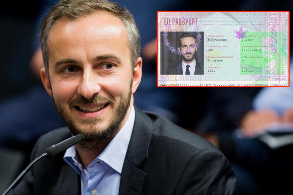 So sieht der erfundene EU-Pass aus.