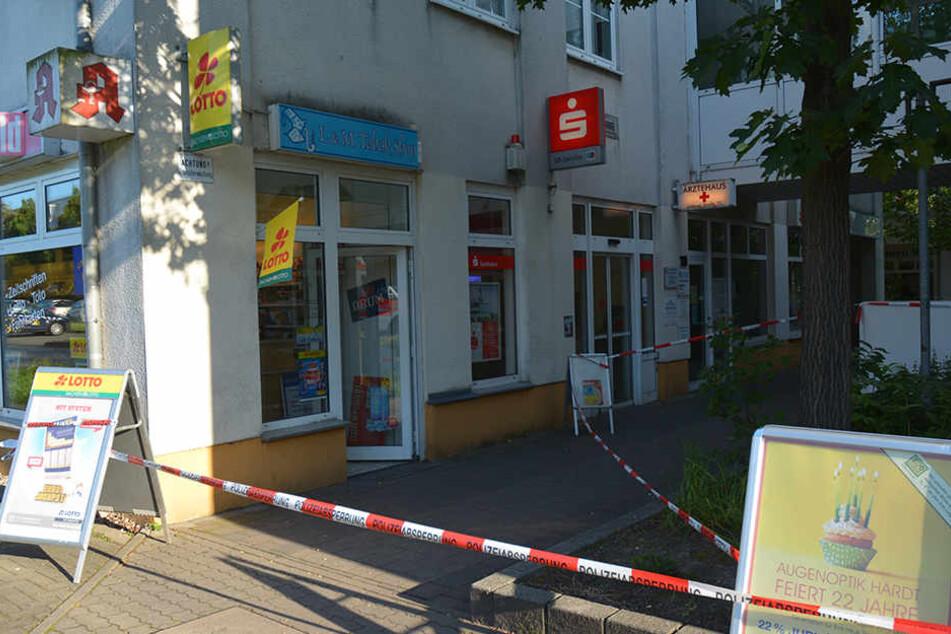 In dem Lottoladen in Schönefeld kam es am frühen Abend zu dem Überfall.