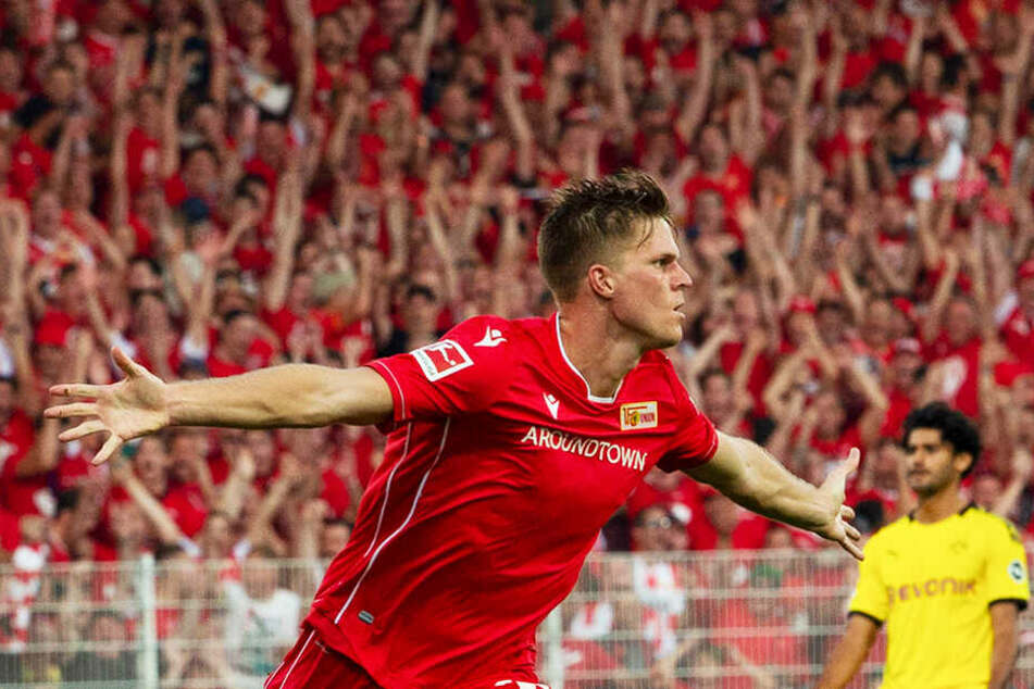 Union-Angreifer Marius Bülter erzielte gegen den BVB einen Doppelpack.