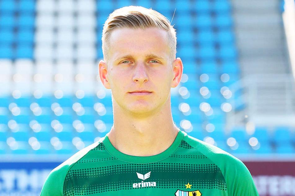CFC-Torwart Florian Sowade fällt mit einem Meniskuseinriss aus...